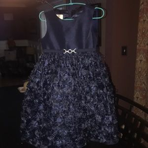 American Princess size 5 girls navy blue dress